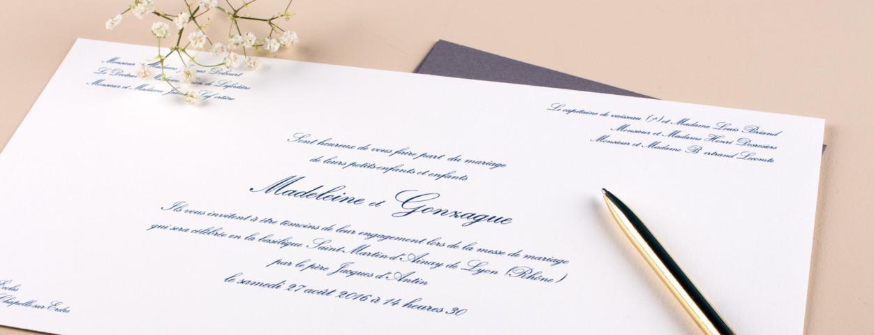 Idées De Textes De Faire Part De Mariage Traditionnel